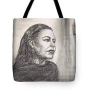 Lady Day Tote Bag