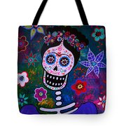 Lady Frida Tote Bag