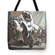 Lady Godiva Statue Tote Bag