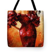 Lady In Red 33 Tote Bag
