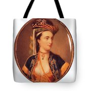 Lady Mary Wortley Montagu Tote Bag