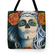 Lady Marygold Tote Bag
