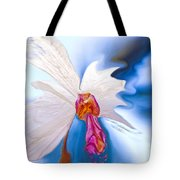 Lady Orchid Tote Bag
