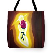 Lady Rose Tote Bag