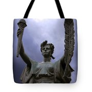 Lady Victory Tote Bag