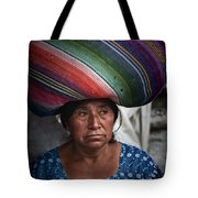 Lady With A Load Tote Bag