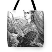 Lady With Fan, C1878 Tote Bag