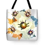 Ladybug Illustration Tote Bag