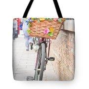 Lady's Bike Tote Bag