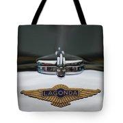 Lagonda Hood Emblem Tote Bag