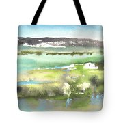 Lagoon In Spain Tote Bag