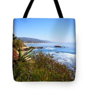 Laguna Beach California Coastline Tote Bag
