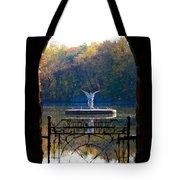 Lake Angel Tote Bag