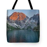Lake Colchuck Sunset Tote Bag