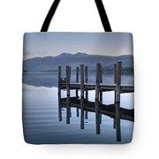 Lake District Jetty Tote Bag