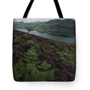 Lake District View From A Hillside Tote Bag