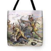 Lake George: Massacre, 1757 Tote Bag