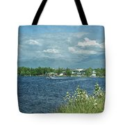 Lake Hood Anchorage Alaska Tote Bag