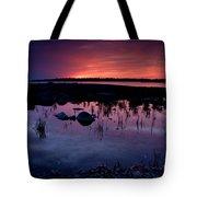 Lake Huron Sunset Tote Bag