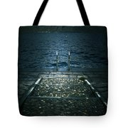 Lake In The Winter Tote Bag