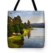 Lake Landscape Tote Bag