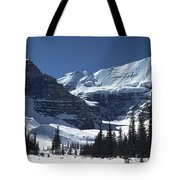Lake Louise Glacier Tote Bag