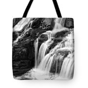 Lake Mcdonald Falls Glacier National Park Tote Bag