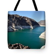 Lake Mead By Hoover Dam Tote Bag
