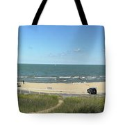 Lake Michigan From The Michigan State Side Tote Bag