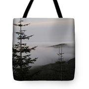 Lake Of Low Clouds Tote Bag