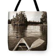 Lake Of The Woods, Ontario, Canada Boat Tote Bag