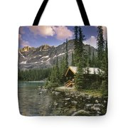 Lake Ohara Lodge Tote Bag