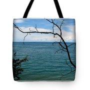 Lake Ontario Near Chimney Bluffs Tote Bag
