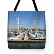 Lake Pepin Harbor Tote Bag