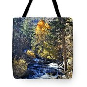 Lake Sabrina Creek Tote Bag