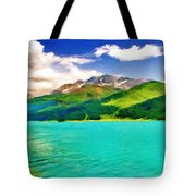 Lake Sils Tote Bag