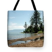 Lake Tahoe Beach Tote Bag