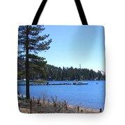 Lake Tahoe Dock Tote Bag