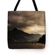 Lake Wakatipu At Sunset Tote Bag