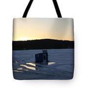 Lake Waukewan- Bobhouse 3 Tote Bag