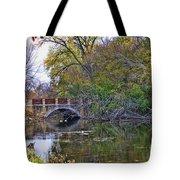 Lake Wingra Bridge Tote Bag