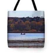 Lake Wingra Fishing Tote Bag