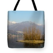 Lake With Island Tote Bag