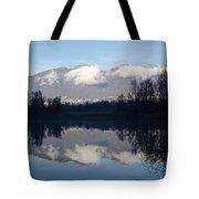Lake With Mountain Tote Bag