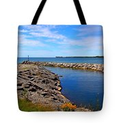 Lakeside Bend Tote Bag