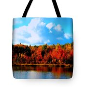 Lakeside Drama Ll Tote Bag