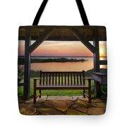 Lakeside Serenity Tote Bag