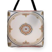 Laleli Mosque Ceiling Tote Bag
