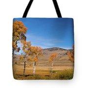 Lamar Valley Aspens Tote Bag