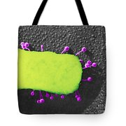 Lambda Phage On E. Coli Tote Bag